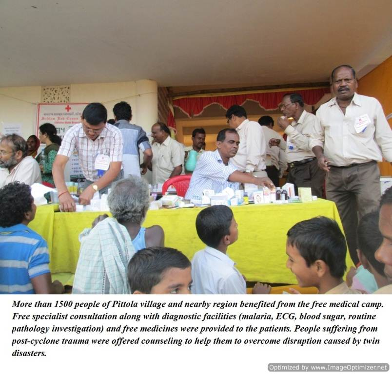 Multidisciplinary Health Camp(Pital)